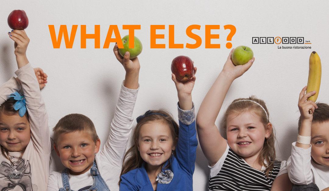 Con il ritorno a scuola e la fine delle feste… mangiare sano, what else?